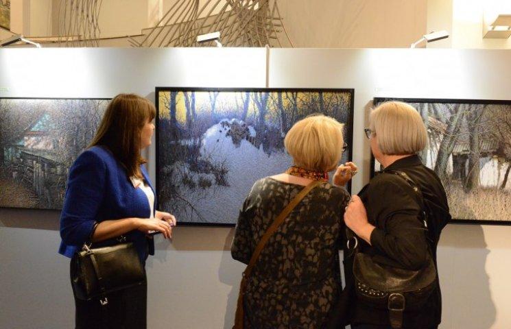 В Європарламенті стартувала виставка Марчука