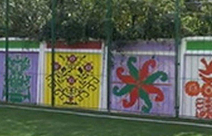 Вінницьким дітлахам дозволять розмалювати шкільний паркан