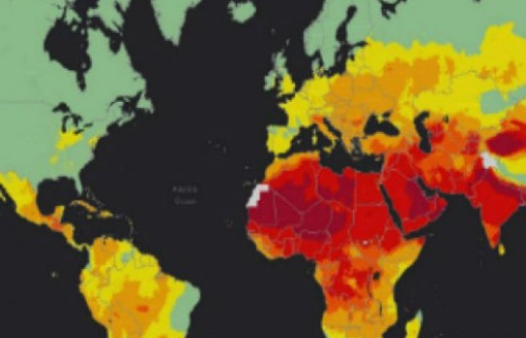 Вчені оприлюднили мапу забрудненості повітря
