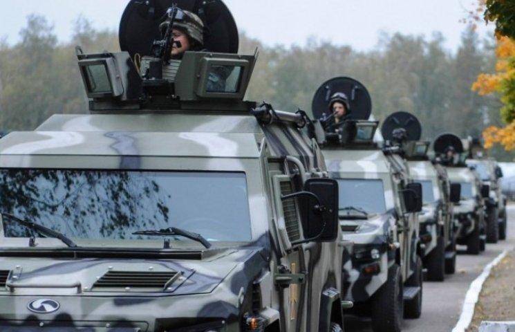 Через Миколаїв проїде військова техніка ВМС