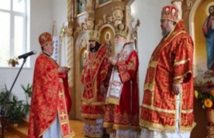 На Хмельниччині з візитом перебуває патріарх Філарет