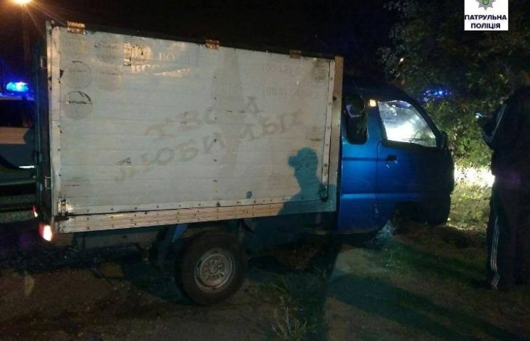 Миколаївські патрульні з погонею догнали водія напідпитку
