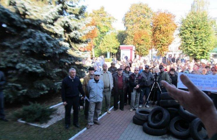 Громада Старокостянтинова готова боротися за закриття акумуляторного заводу у будь-який спосіб