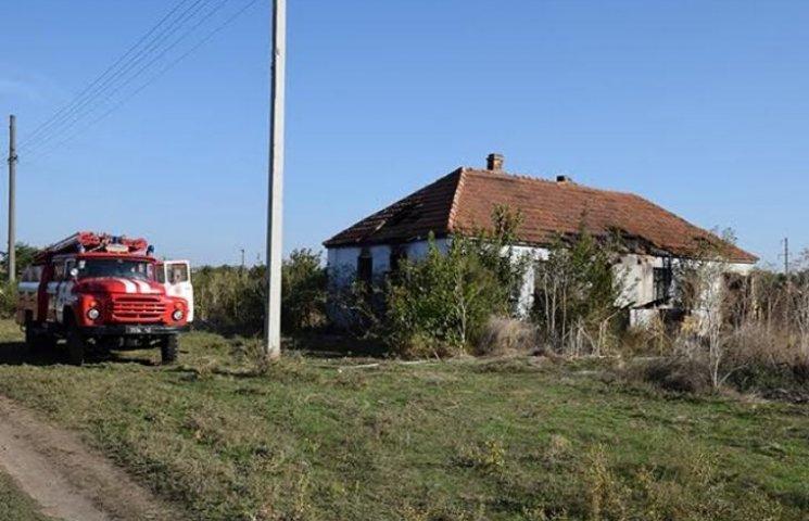 На Миколаївщині пожежа забрала життя двох людей