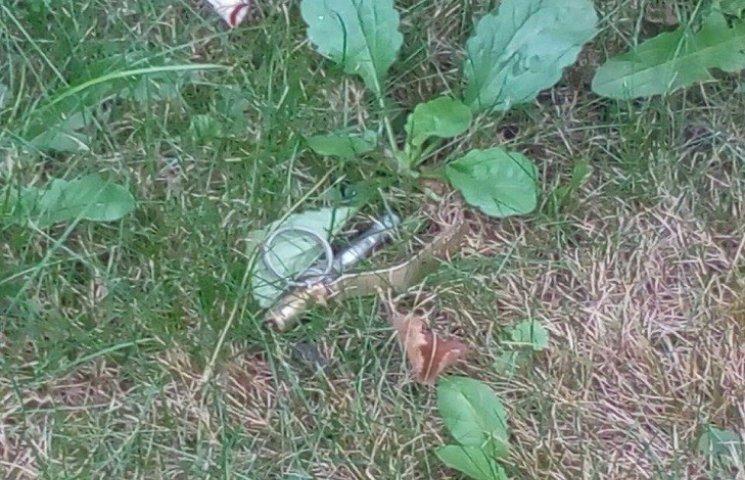 У Хмельницькому знайшли гранату