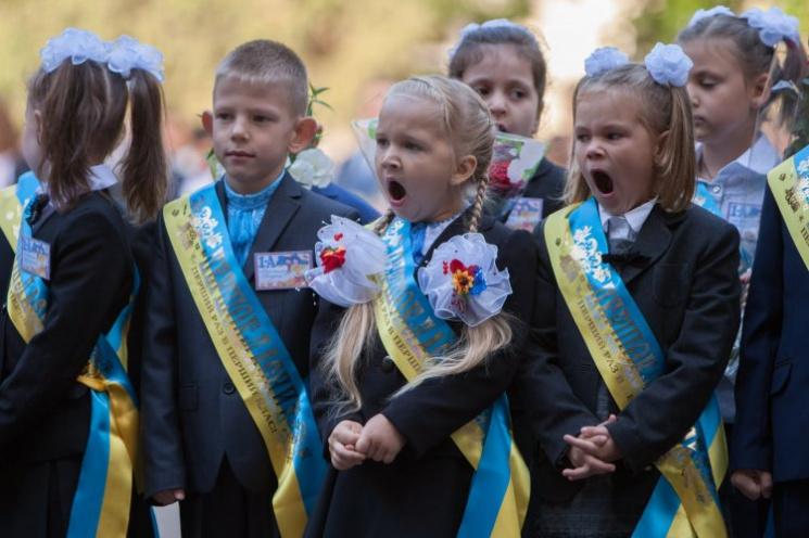 Совок у вишиванках: Чому українські батьки обурені першим вересня