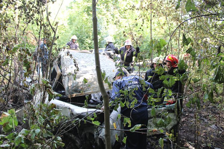 Натрасі Кременець— Біла Церква трапилася страшна аварія: четверо людей загинули