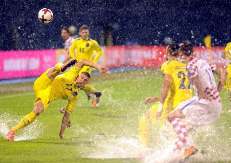 Стало известно, когда доиграют матч Хорватия— Косово