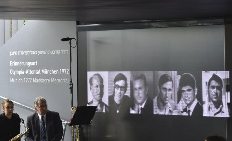 ВМюнхене впамять опогибших втеракте израильтянах установили мемориал