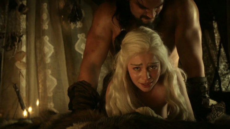 Популярные сцены секса в игре престолов