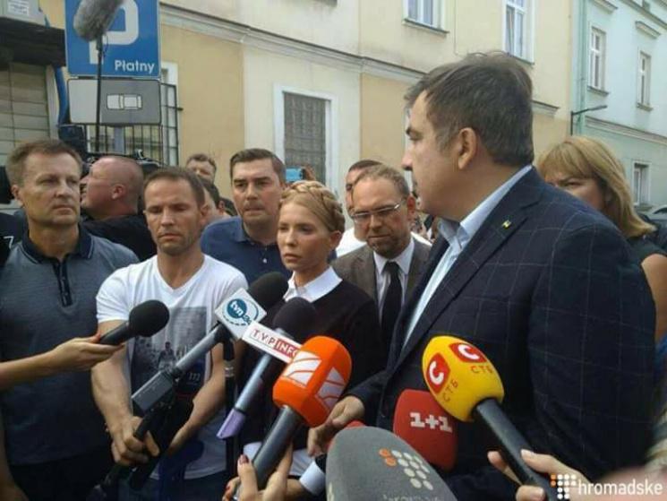 """""""Прорыв"""" Саакашвили: Почему в этом шоу проиграли все актеры"""
