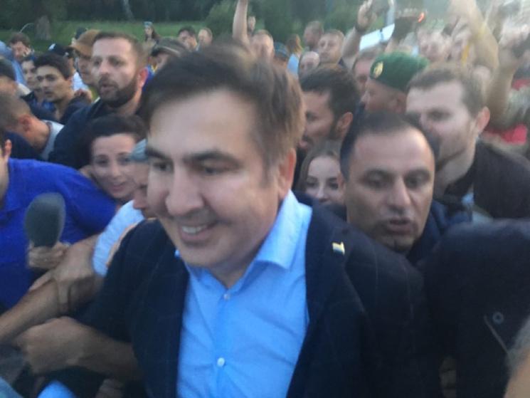 Саакашвілі прорвав український кордон