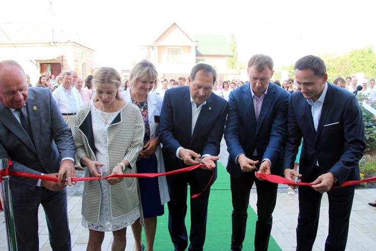 У Кропивницькому перерізали стрічку до нового перинатального центру