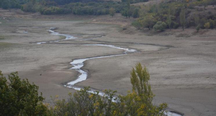 Окупанти визнали, що води на півночі Криму залишилося на два роки