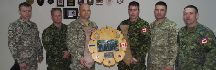 У Центрі розмінування відбулась ротація військових інструкторів з Канади