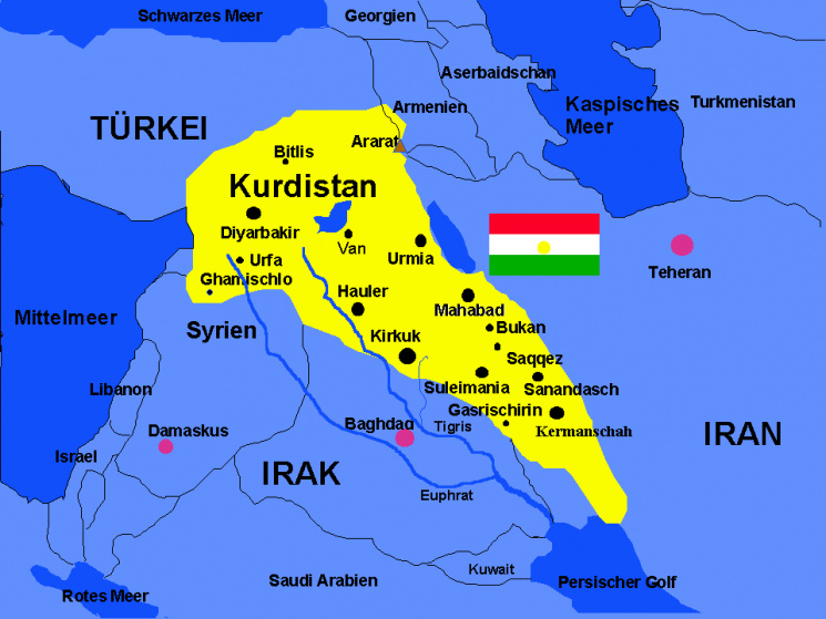 Ізраїль виступив за створення незалежної держави курдів