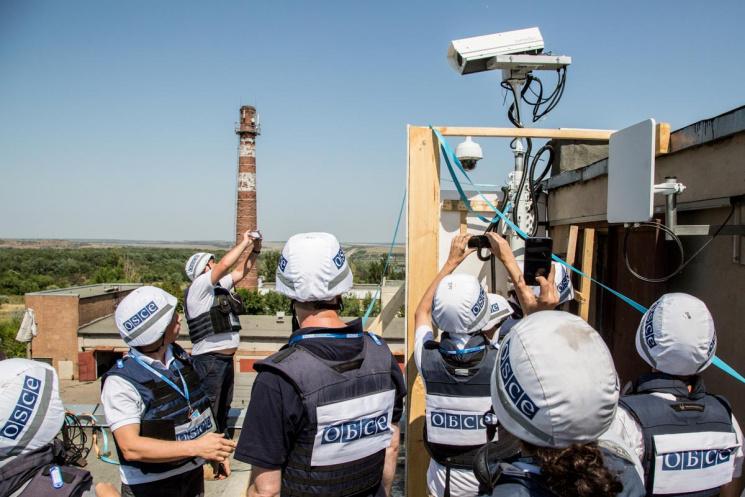 ОБСЄ встановить ще чотири відеокамери на Донбасі