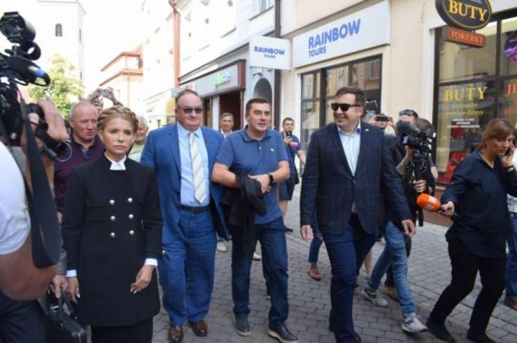 Кандидат в Архангели. Коли Тимошенко і Садовий вимагатимуть арештувати Саакашвілі