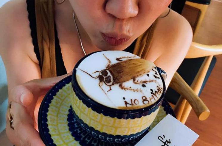 3D-ужасы на кофе из молочной пены (ФОТО, ВИДЕО)