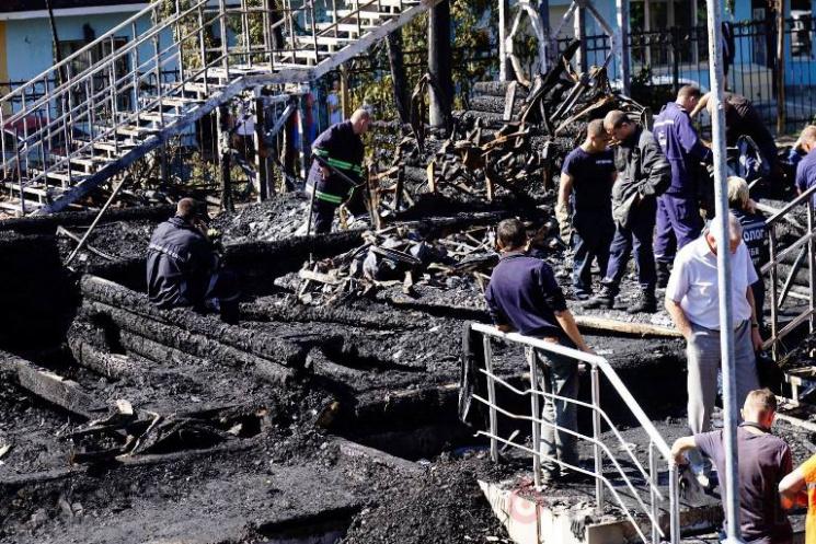 Пожежа в дитячому таборі в Одесі. Одесит…