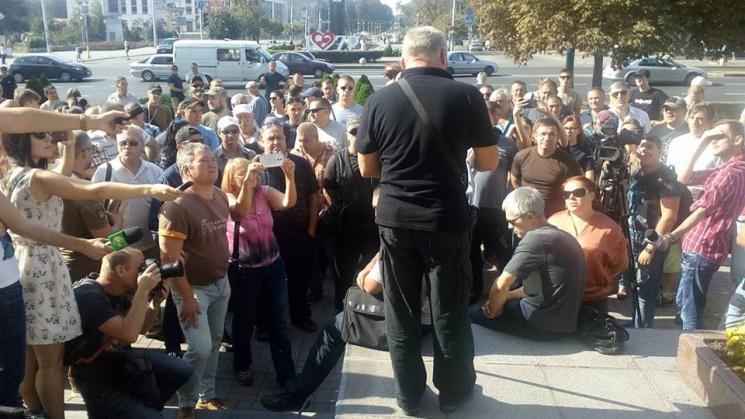 ВЗапорожье произошла драка между бойцом АТО иводителем маршрутки