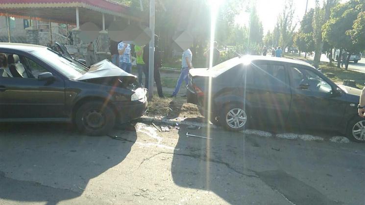 Пойманный навзятке полицейский убегал отСБУ ипопал вДТП