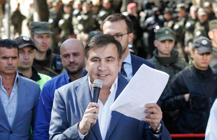 Генеральный прокурор Украины призвал оштрафовать Саакашвили запересечение границы