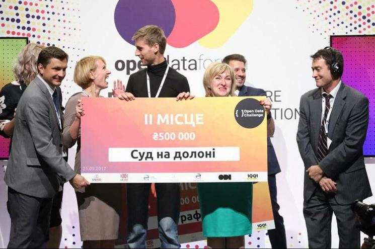 Автори дніпровського стартапу з відкритих даних виграли на розвиток півмільйона гривень