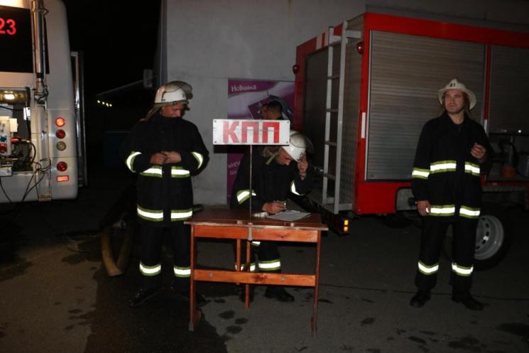 Вночі вКиєві згорів склад будматеріалів