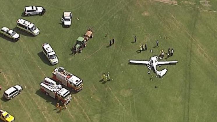 ВАвстралии разбился самолет: Никто невыжил