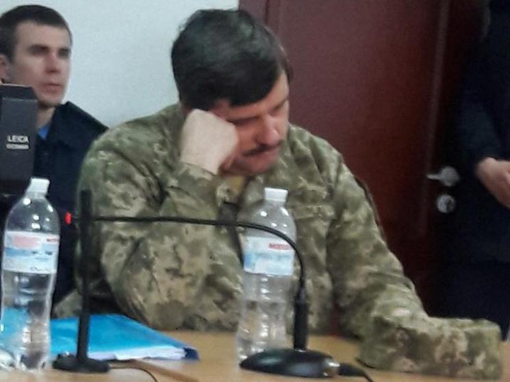 В Днипре суд объявил недельный перерыв в заседании по делу генерала Назарова