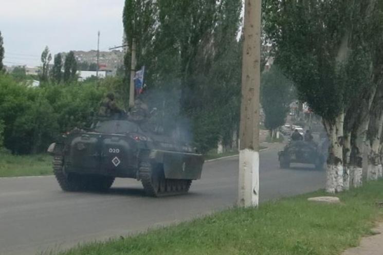 Окупанти проводять масову передислокацію важкого озброєня, - Снєгирьов