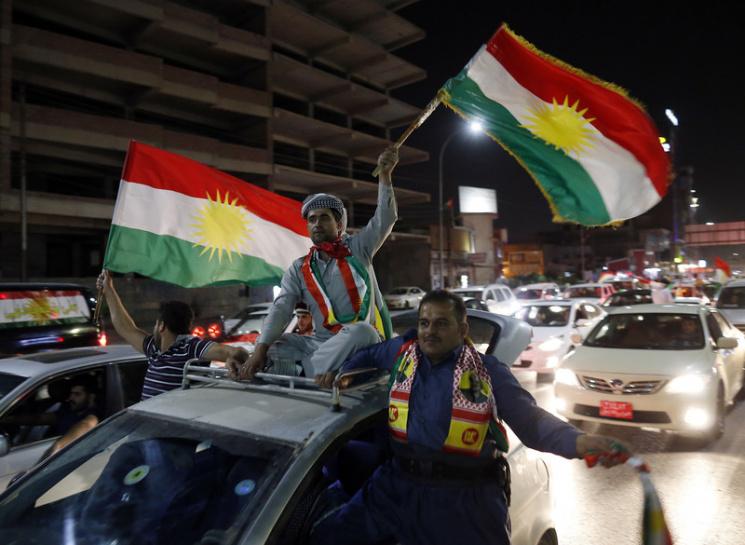 Іракські курди нареферендумі проголосували занезалежність Курдистану