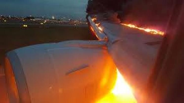 ВУкраинском государстве вблизи Хмельницкого упал военный самолет