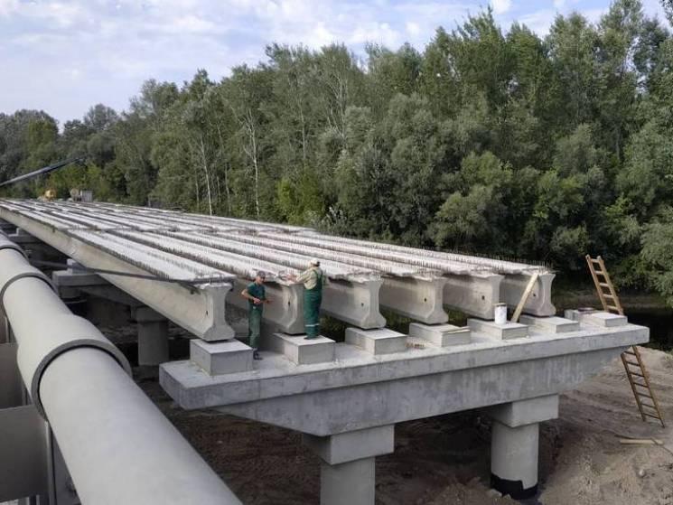 Як будується міст через Сулу на автодоро…