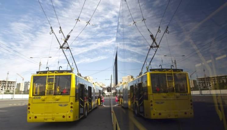 Зупинки столичного громадського транспор…