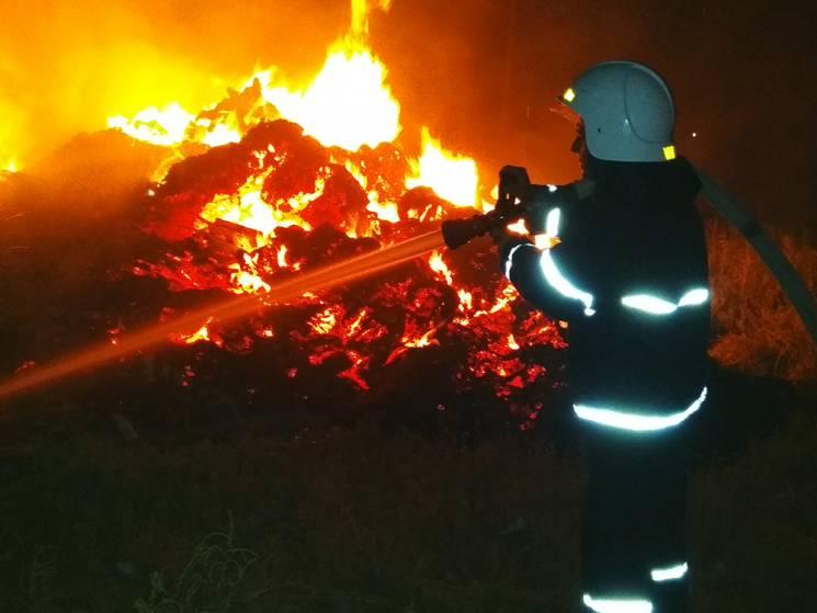 На Миколаївщині чоловік спалював сіно та…