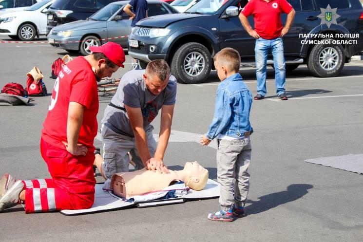 Як сумчан вчили надавати першу медичну допомогу (ФОТО)