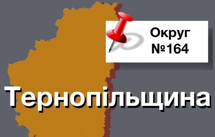 Округ №164: Кто на Тернопольщине оттесни…