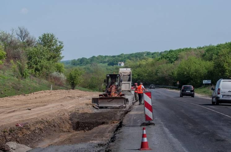 Якість ремонту доріг на Тернопільщині інспектує голова Укравтодору