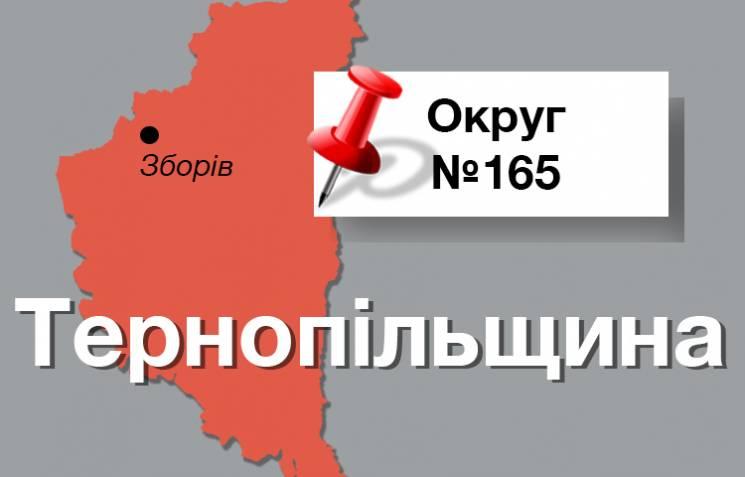 Округ №165: Тернопольщина, где Януковича…