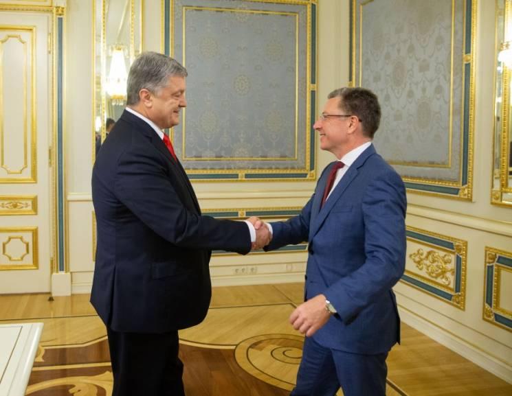 Порошенко провів переговори з Волкером (ФОТО)