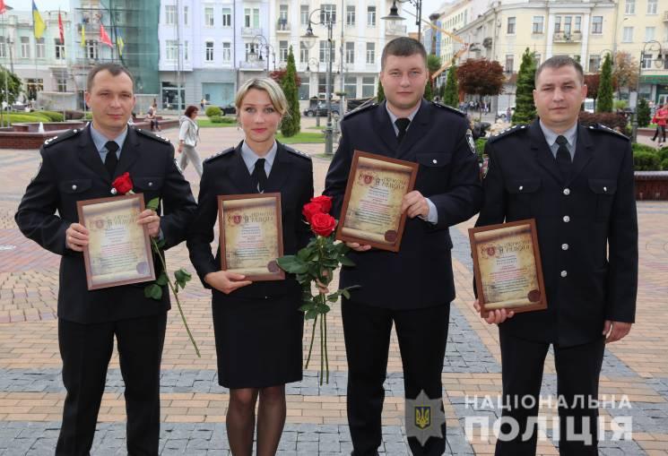 За розкриття замовного вбивства Моргунов дав поліцейським премії (ФОТО)
