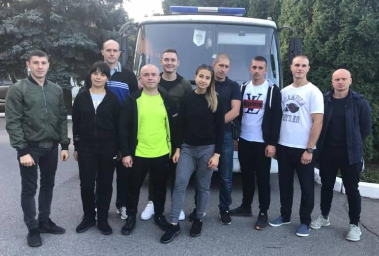 Вінницькі рятувальники поїхали змагатися з колегами