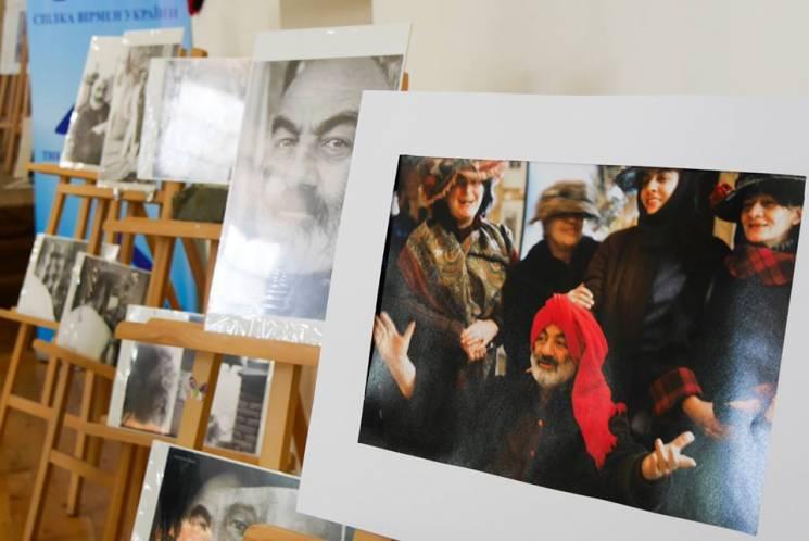 """У """"Совиному гнізді"""" відкрили виставку, присвячену Сергію Параджанову (ФОТО)"""