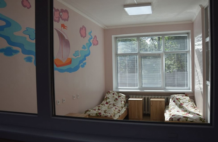 У Кропивницькому відремонтували дитяче інфекційне відділення міської лікарні (ФОТО)