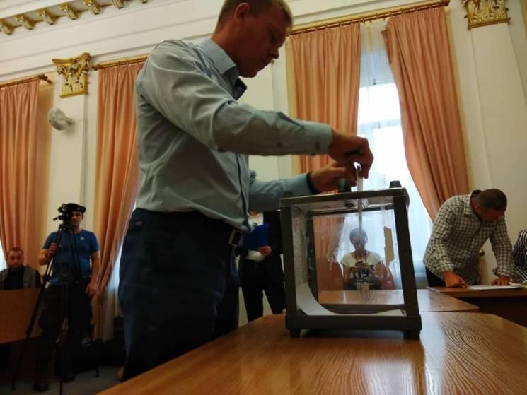 Секретарем Полтавської міськради обрали Олександра Шамоту (ФОТО)