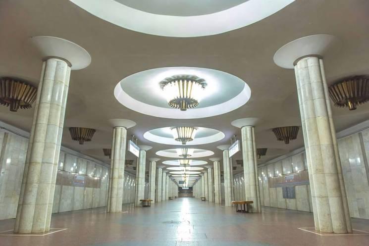 У Харкові палає перехід станції метро (ВІДЕО)