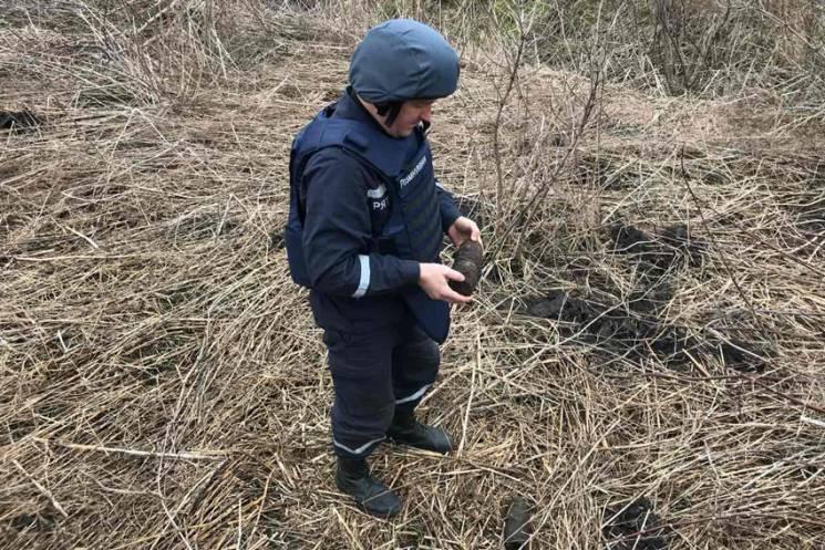 На Ужгородщині знайшли стару вибухівку…