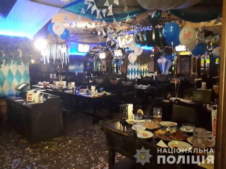 У центрі Харкова через загрозу вибуху евакуювали ресторан (ФОТО)